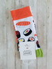 Women's sushi socks novelty gift