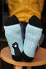 women's cat socks - cat paws