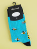 women's bee socks insect uk