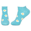 Women's Fried Egg Socks (Pair) No-Show Ankle  uk