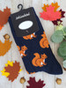 men and womens squirrel socks