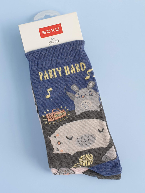 Women's cat socks uk amazon soxo