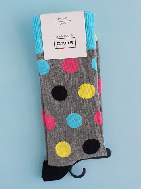 Men's Spotted Socks (Pair) SOXO Good Stuff