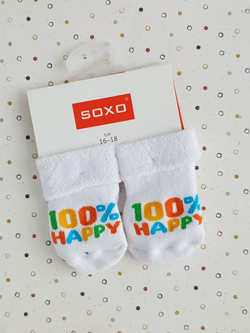 100% Happy Infant Socks (Pair)