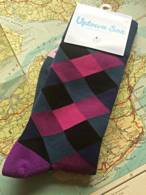 Blackcurrant Socks (Pair)