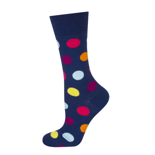 Mens Soxo Good Stuff Spotted Business Socks (Pair)