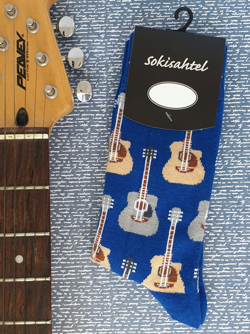 Guitar socks uk novelty
