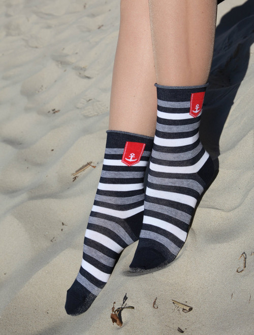 cotton socks for woman socks are also suitable for diabetics - do not squeeze the foot