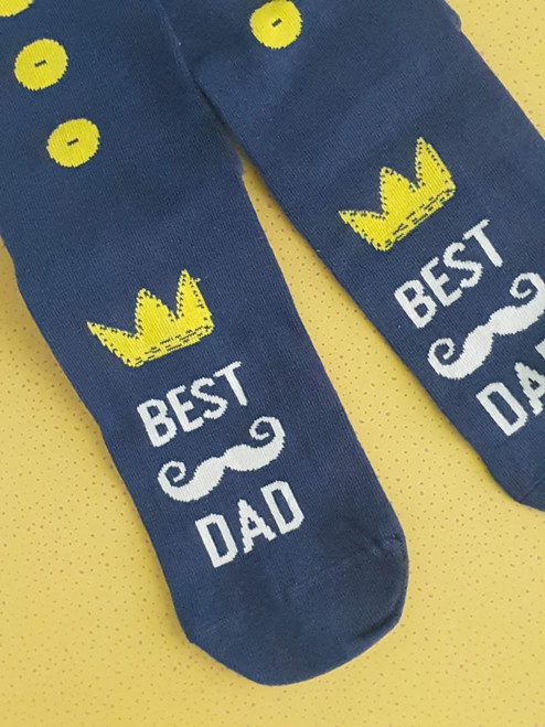 Best Dad Socks - Fathers's Day Gift
