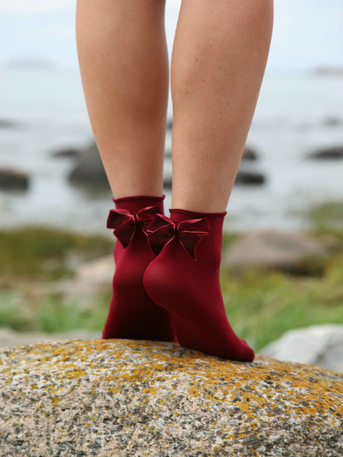 womens socks with bow
