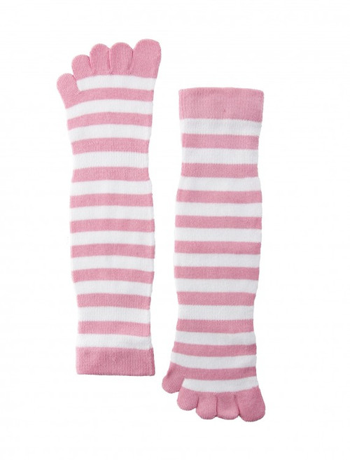 Women's Pink Toe-Socks