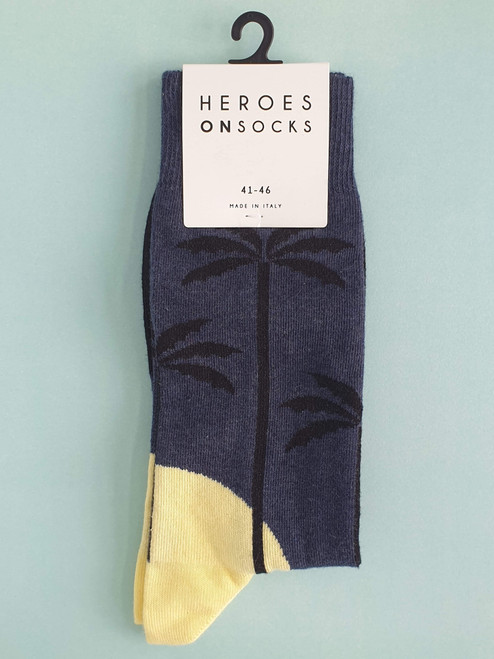 Mens Palm Tree socks