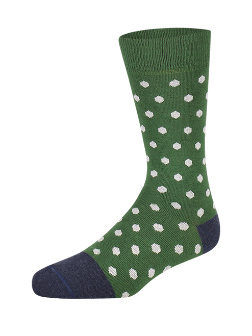 Polka Fields Herensokken (Pair) - Heroes on Socks