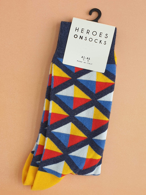 Men's multicoloured socks uk