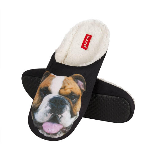 mens boxer dog slippers