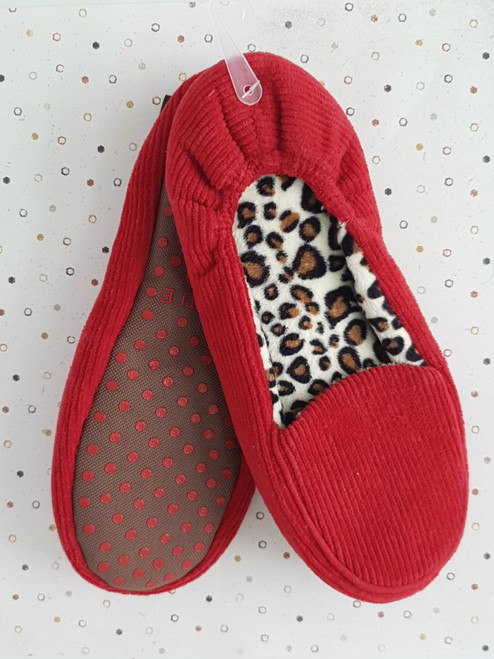 women's Leopard  print slippers