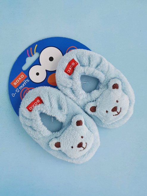 baby bear slippers uk 0-12 Months