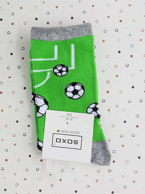 kids novelty socks football