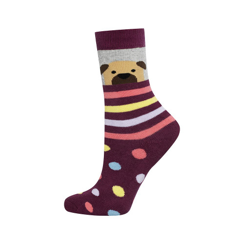 Children's Pug Socks UK