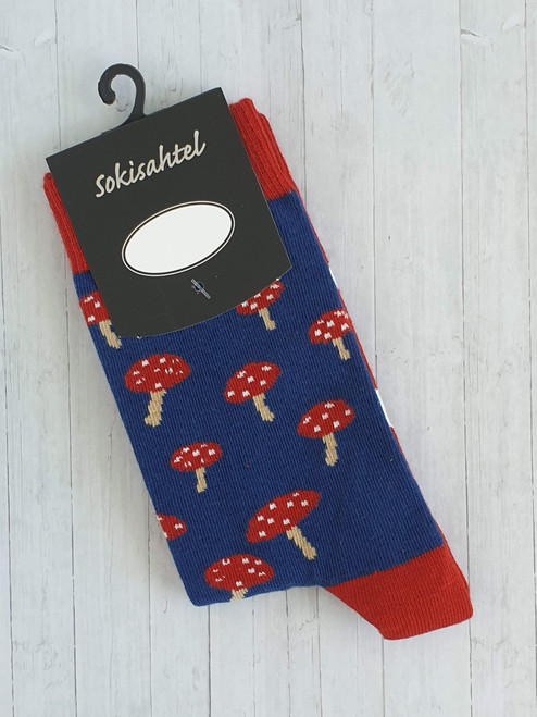 Womens Mushroom Socks UK