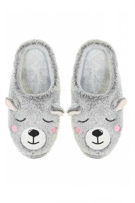 womens bear slippers