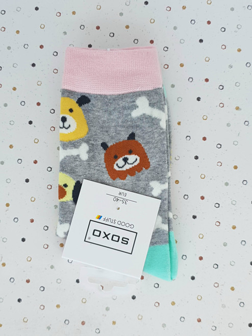 ladies dog socks uk
