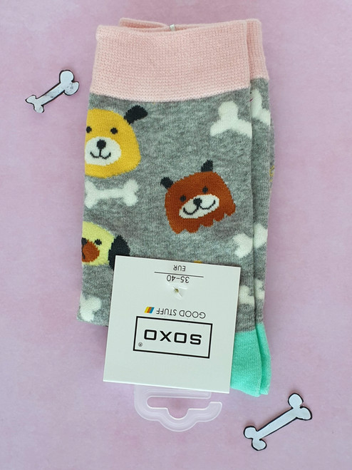 Women's Dog print Socks uk
