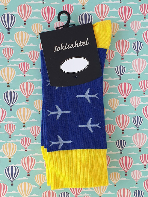 womens and ladies socks with planes