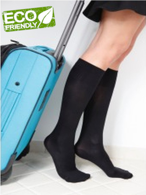 Women's travel socks compression flight