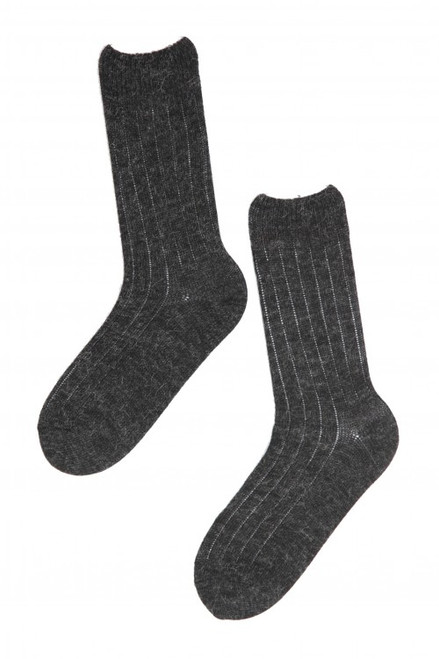 Mens Alpaka Socks (Pair) Black
