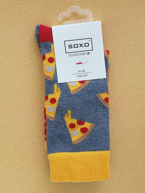 Women's Pizza Socks uk