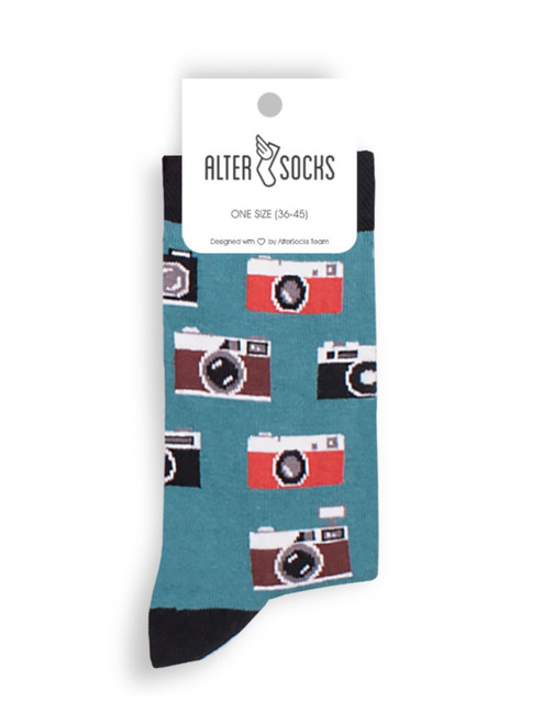 Camera Socks novelty gift