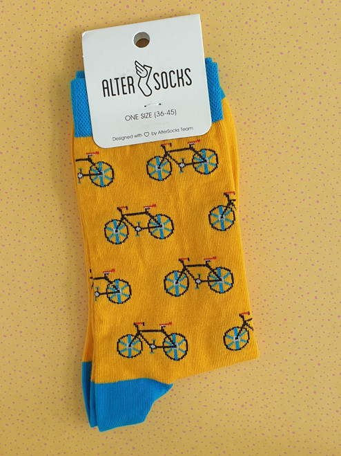 Men's Novelty bike socks uk
