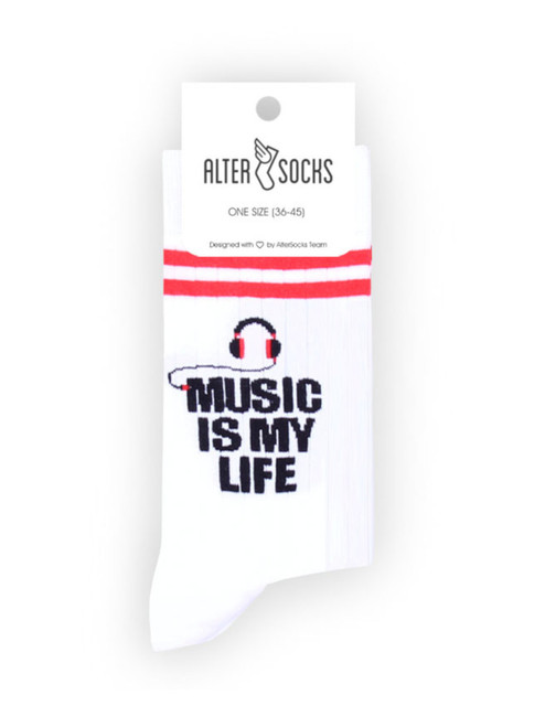 Music lover socks gift