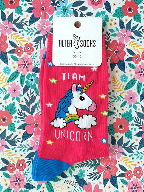 womens unicorn socks uk