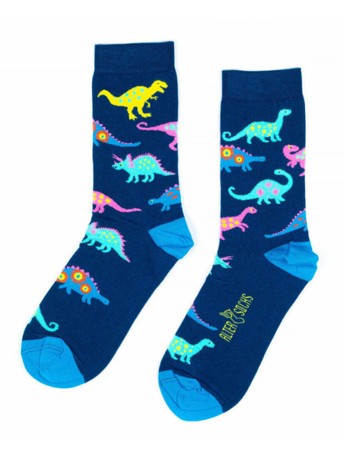 Dinosaur socks uk men and women's