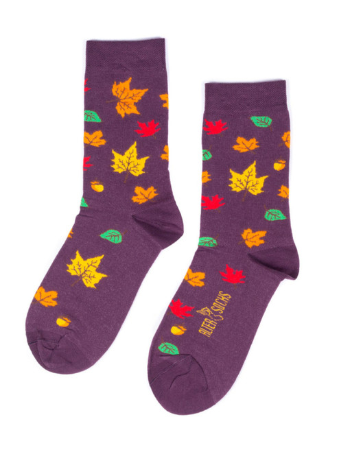 Leaves Socks uk