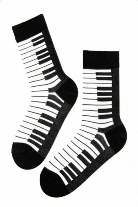 Mens piano socks