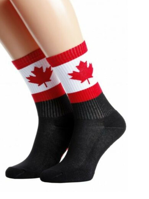 Canada flag socks canadian socks