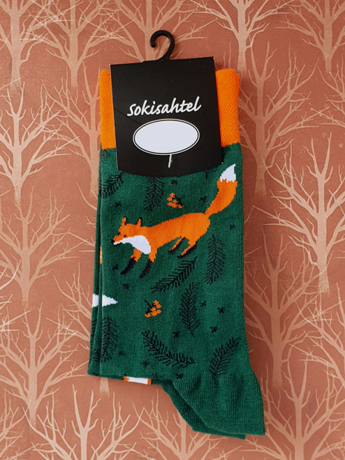 womens fox socks uk