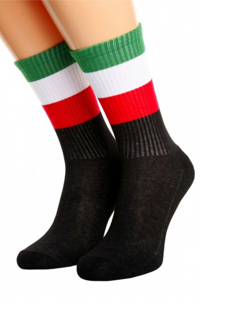 men and womens italy flag socks uk