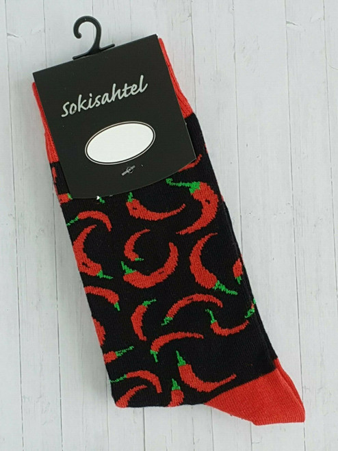 men's chilli socks uk sock shop