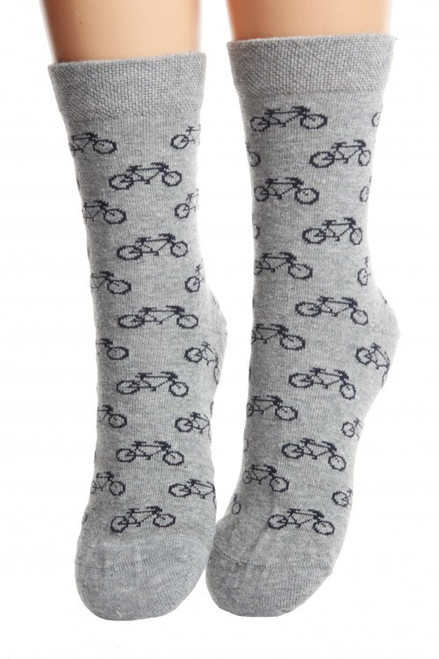 Childrens Bike Socks (Pair) Fun Kids Bicycle Socks