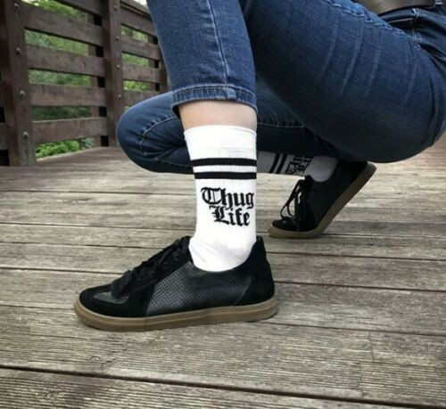 Thug Life Socks (Pair) Fun Novelty Thug Life Gift