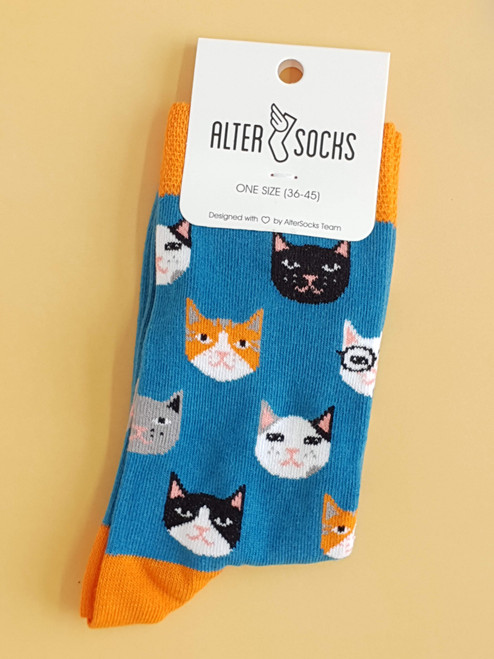 Women's cat socks - Cat Kitten Socks Alter Socks