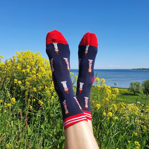 Men's Lighthouse Socks uk