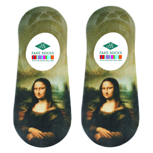 Women's Mona Lisa Socks (Pair) No-show - Da Vinci Socks UK
