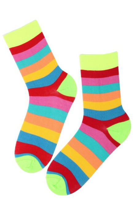Women's Colourful Striped Socks