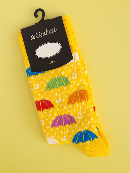 Womens Umbrella Socks Novelty