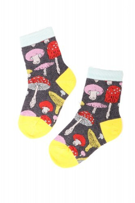 Children's Mushroom Socks (1 Pair)